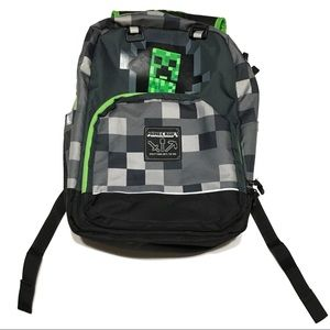 Minecraft backpack like new condition full size